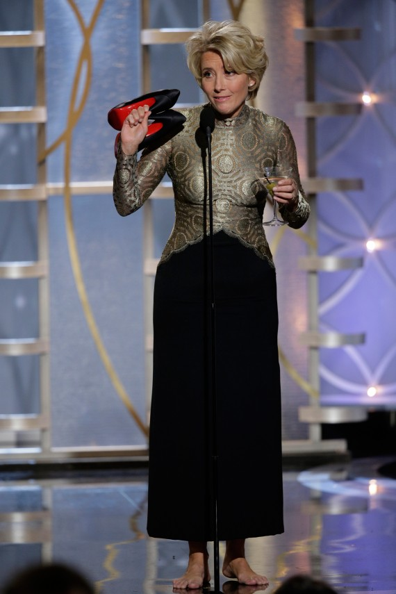 Emma Thompson Golden Globes