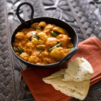 Cauliflower and Chicken Curry
