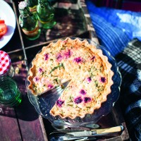 Beetroot Quiche