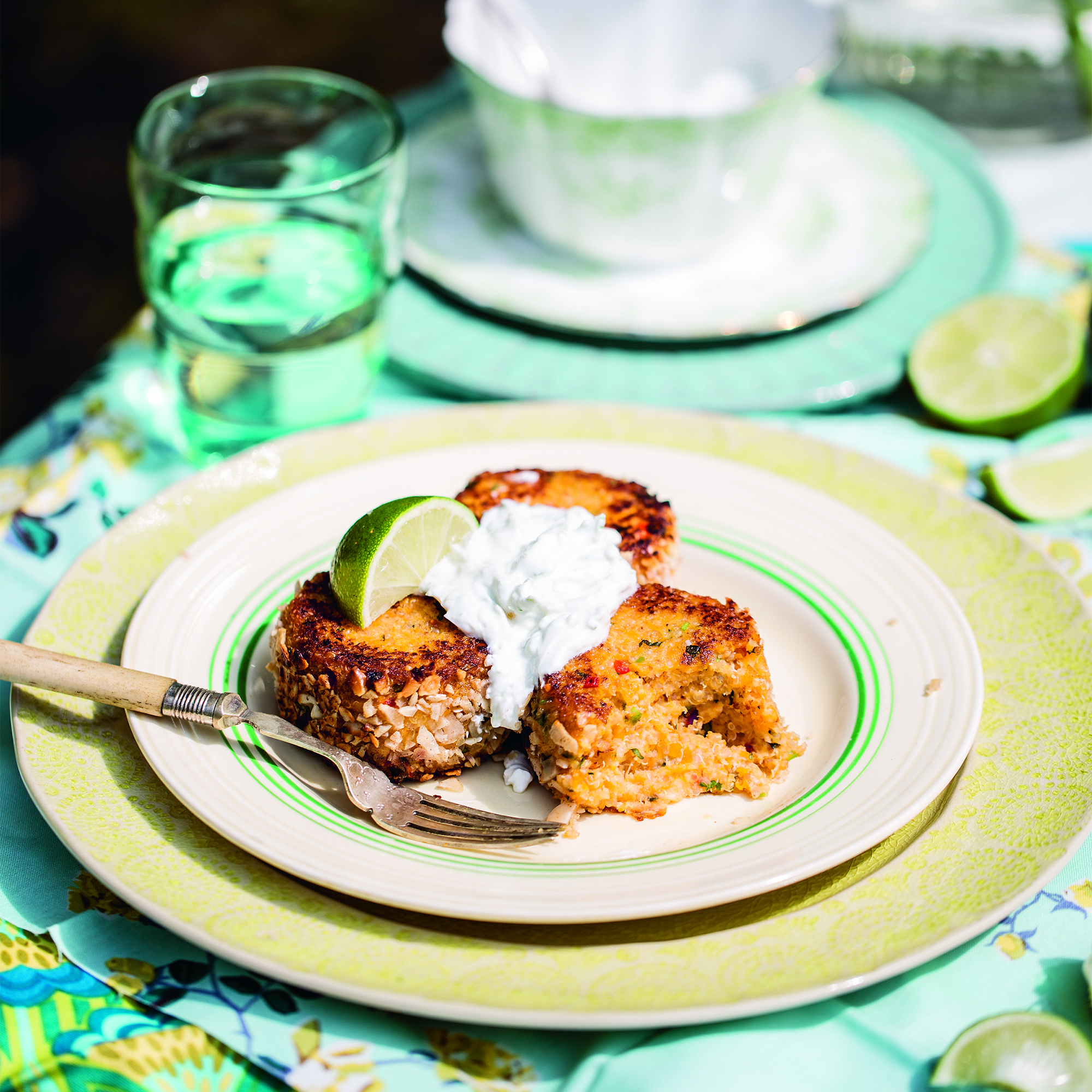 quinoa and butternut squash cakes woman and home