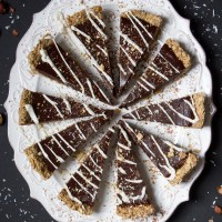 Chilled Chocolate-Espresso Torte With Toasted Hazelnut Crust