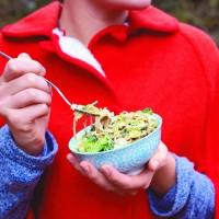 Warm Soba Noodle Vegetable Salad
