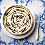 Tarte au Citron with a Chocolate Twist
