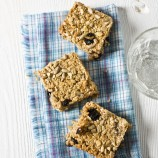 Apple and Blueberry Flapjacks