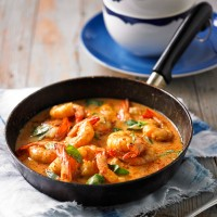 Stir-Fried Red Prawns