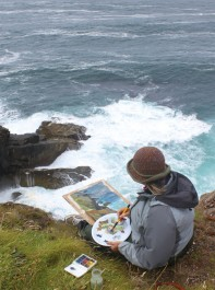 Travel offer: Landscape painting in Cornwall