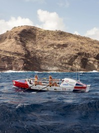 Duracell's 2 Boys In A Boat battle life-threatening waves for Talisker Whisky Atlantic Challenge