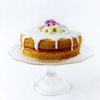 Easter sponge cake