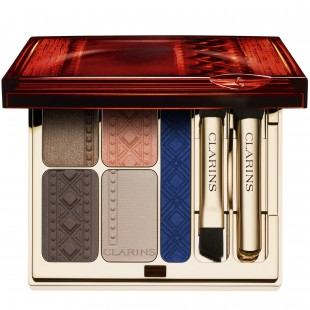 Clarins Limited Edition 'Colours of Brazil' Quartet and Eyeliner Palette