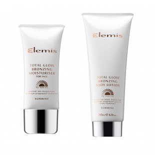Elemis Total Glow Bronzing Moisturiser and Body Lotion