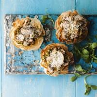 Mushroom, Ricotta and Tarragon Tartlets