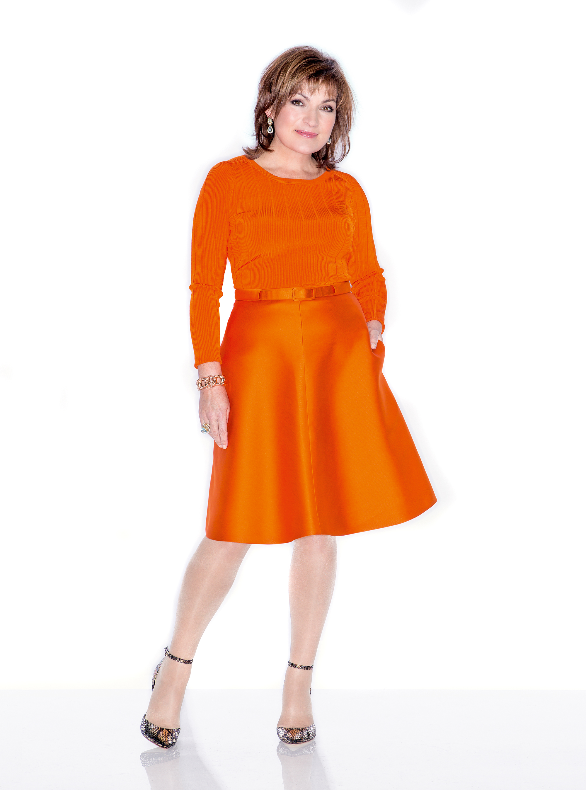 Lorraine Kelly Interview July 2014 Woman And Home