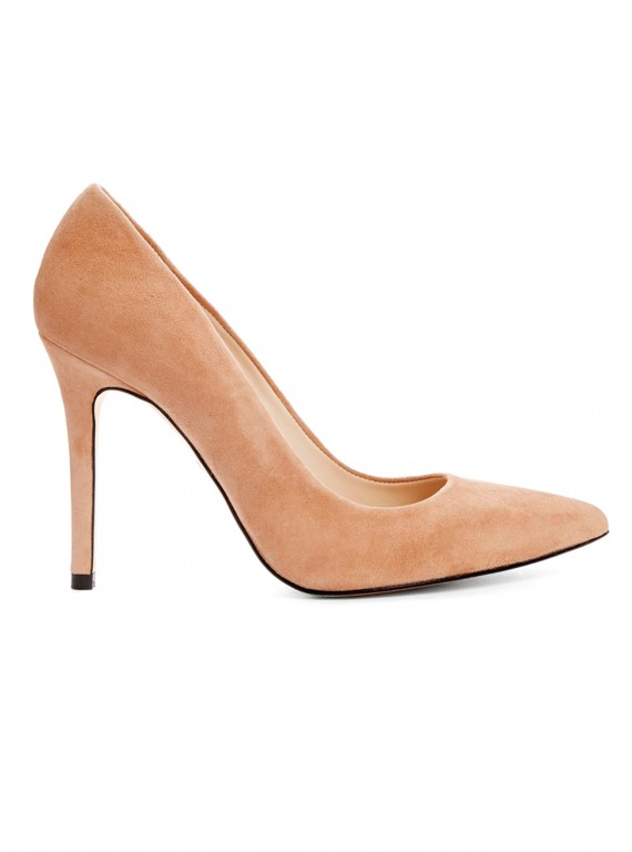Whistles French 65 nude heels