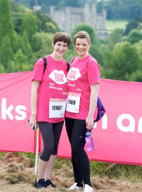 Leeds Castle Pink Ribbonwalk 2014