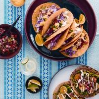 Mexican tostadas