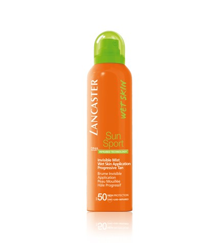 photo of Lancaster Sun Sport Invisible Mist Wet Skin Application SPF 50