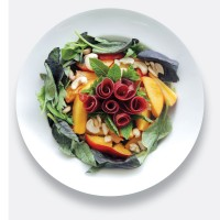 Bresaola Nectarine and Cashew Nut Salad
