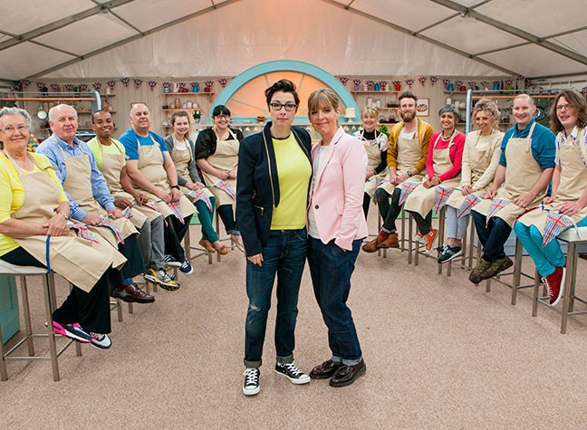 Bake Off's Back! Meet The Final Twelve...