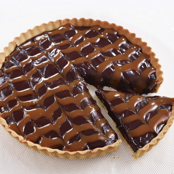 Salted Chocolate And Caramel Tart - Woman And Home
