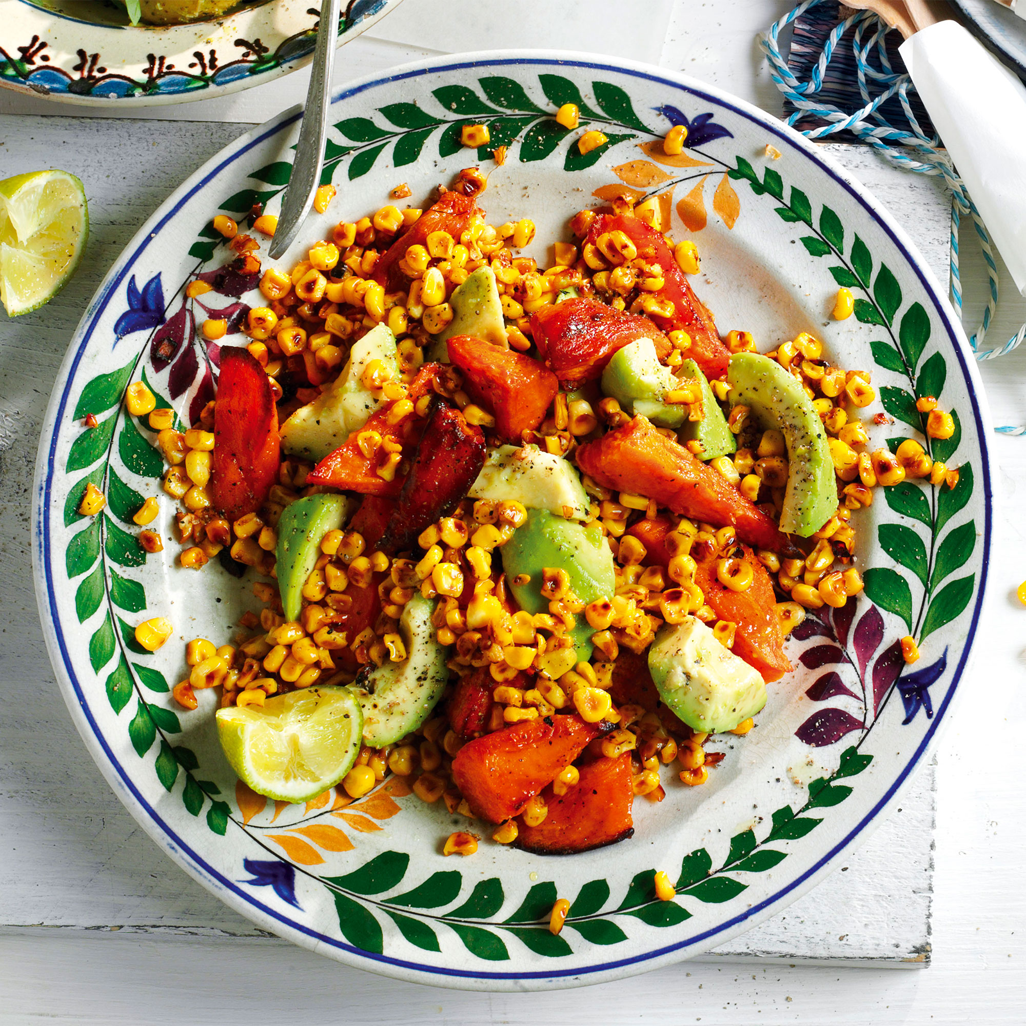 Sweet Potato and Sweetcorn Salad - Woman And Home