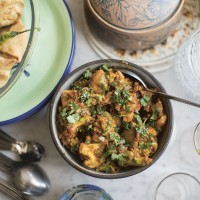Cauliflower and Sweetcorn Curry