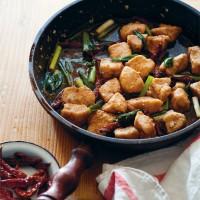 Fried Sichuan Chicken