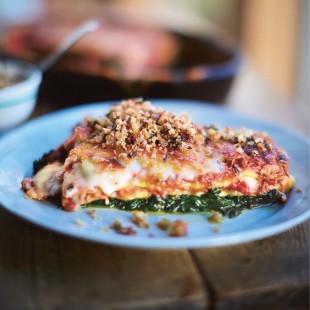 Jamie Oliver's Crispy Duck Lasagne