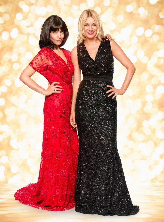 Claudia Winkleman and Tess Daly photo