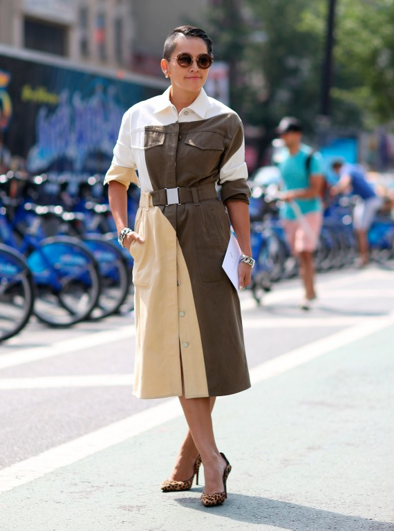 New York Fashion Week Earthy Tones Scream Luxe Woman And Home