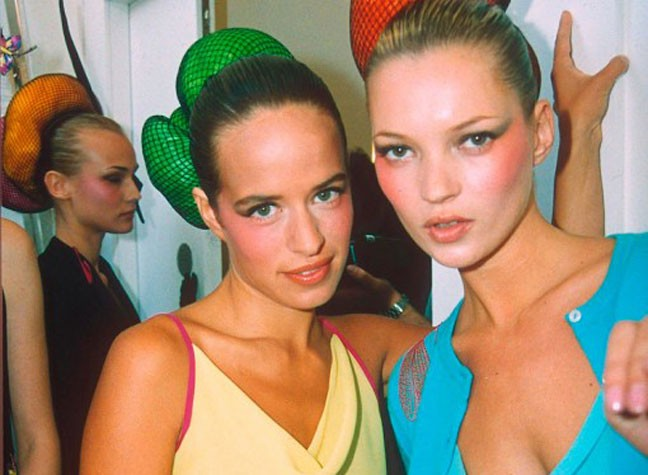 30 Years Of London Fashion Week In Pics