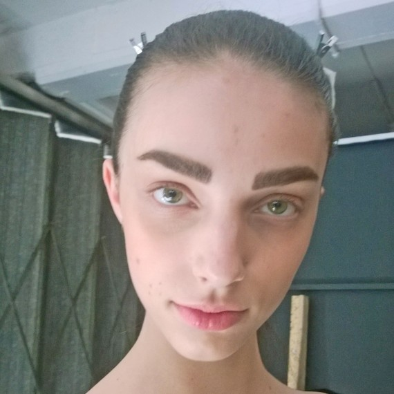 Joseph ss15 backstage beauty