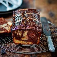 Claudia Winkleman's Mocha Marble Cake