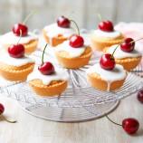 Dame Judi Dench's Mini Cherry Bakewells