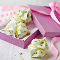 Sophie Ellis-Bextor's Pistachio and Cardamom Meringue Kisses