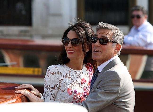 Post-Wedding Pictures Of George And Amal
