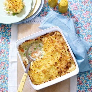 Traditional Fish Pie With A Time-Saving Twist