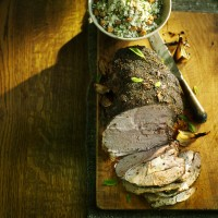 Slow Cooked Lamb with Za�tar and Cauliflower �Couscous�