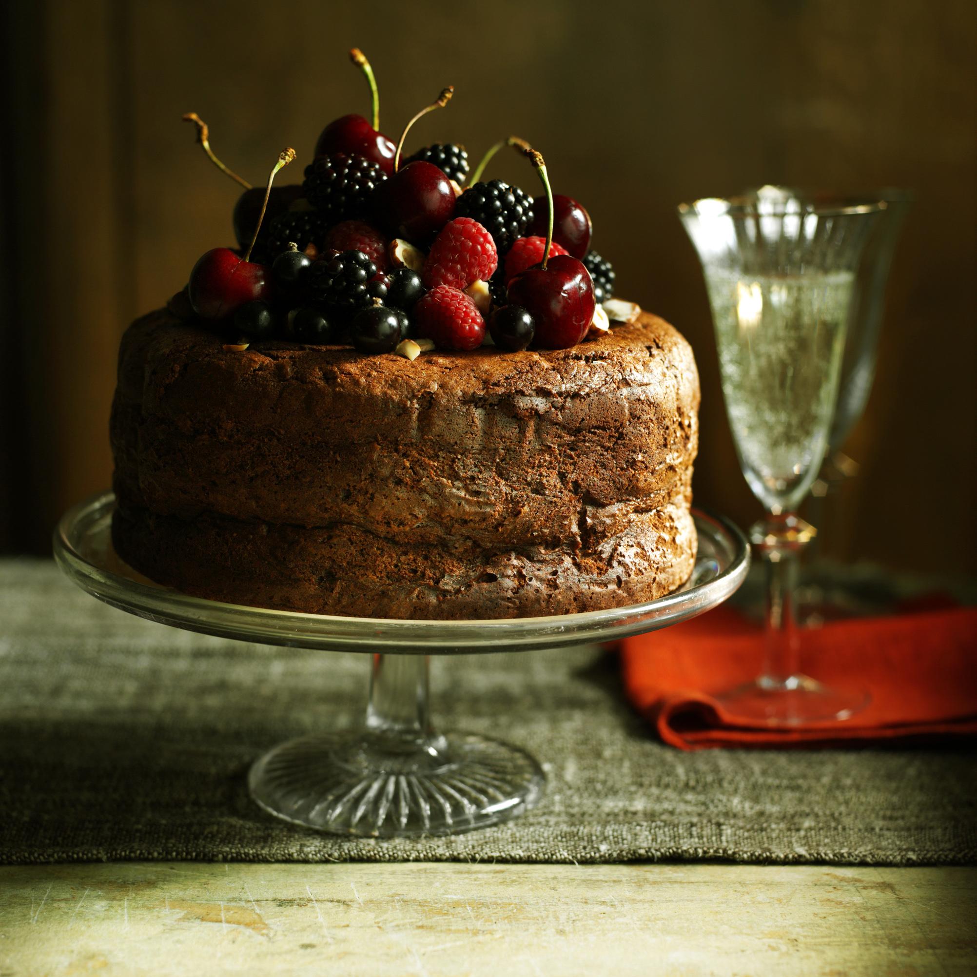 Hazelnut mousse cake filling recipe