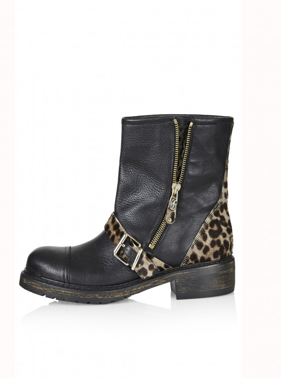 Topshop VIP Biker Boots By CJG photo