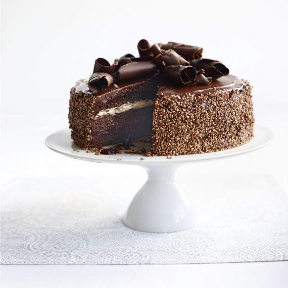 Chocolate cake recipes gluten free and dairy free black for Black forest torte recipe