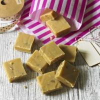 Walnut and Maple Syrup Fudge