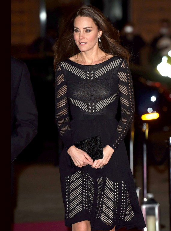 Kate Middleton Style - Action on Addiction Gala