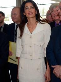 Inside Amal's Wardrobe: Winter Whites