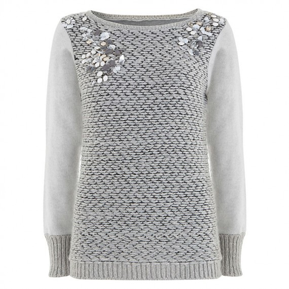 John Lewis grey jumper
