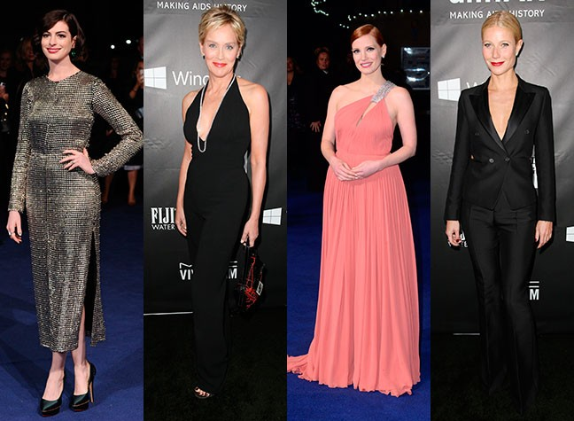 Which 56 year-old stole the style limelight last night?