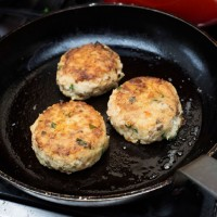 Smoked Mackerel, Chilli and Lemon Fishcakes