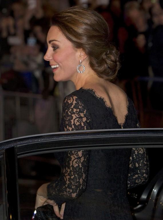Kate Middleton Updo