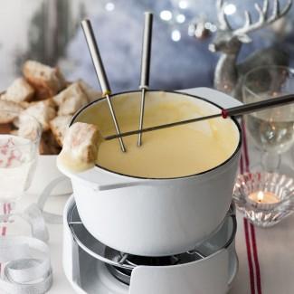 Kirsch Cheese Fondue