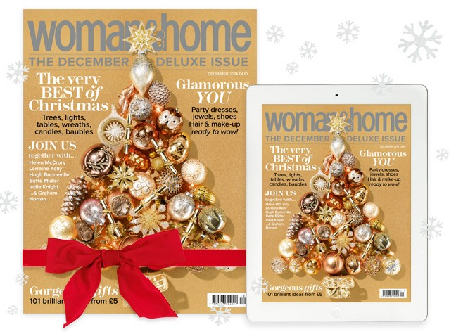 woman&home Christmas Offer