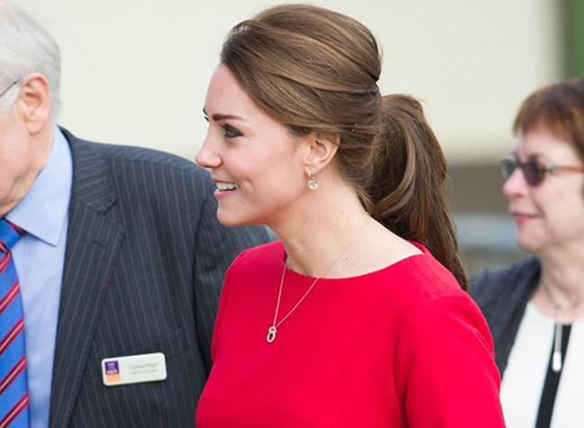 The Duchess Tears Up at Hospice Fundraiser
